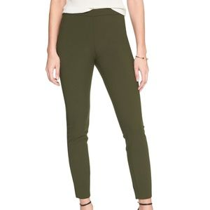 Banana Republic Olive Green Devon Legging Pant